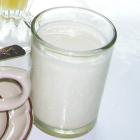 Vaso de leche fresca